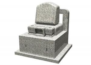 花園むさしの浄苑-1㎡区画-建墓例